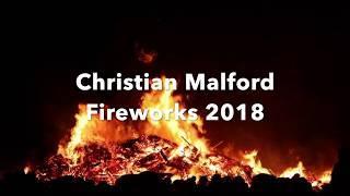 Christian Malford Fireworks 2018