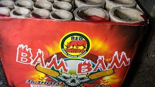 36shot 200gram BAM BAM( RED RHINO FIREWORKS
