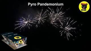 Pyro Pandemonium Compound Firework Cake by Black Cat Fireworks
