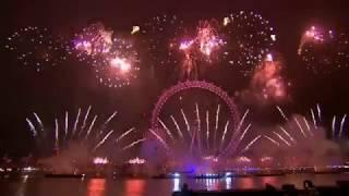 London Fireworks 2019 - Full Show London New Year's Eve 2019