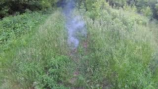 Дымовая шашка 10% парафина без канала и сопла