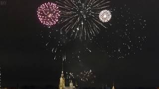 САЛЮТ В НОВЫЙ ГОД 2019 В САНКТ-ПЕТЕРБУРГЕ