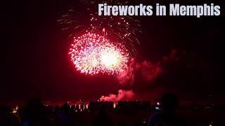 লাইফের প্রথম ফায়ার অয়ার্ক্স || Awesome Fireworks in Memphis || Bangladeshi American Lifestyle Vlog