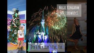 Day 6 Boathouse Lunch, California Dinner & MK NYE Fireworks   Christmas at Walt Disney World