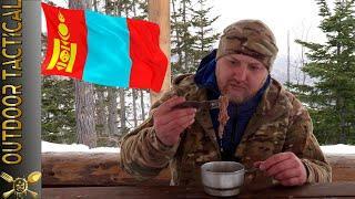 ОБЗОР Тушенка из Монголии - НЕ ПОВЕЗЛО!!! / Mongolian Tushonka MRE