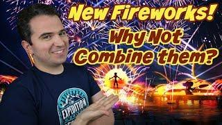 New Fireworks Show - Illuminations Full-Time and Temporary Replacement