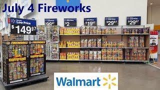 WALMART JULY 4 FIREWORKS 2019