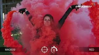 МА0509 RED Цветной дым густой Красный 30 секунд