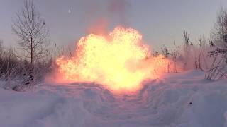 Взорвал пакет МУКИ!Взрываем петарды.