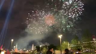 Фейерверк 9 мая Москва (день победы салюты)