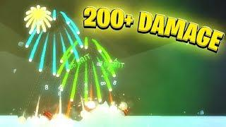 200 Damage Fireworks *Turn 1* - Shellshock Live Showdown | JeromeACE