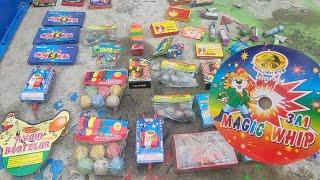 UNBOXING lots of unique Firecrackers and Fireworks for Experiment with hammer