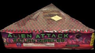 351 SHOT SATURN MISSILE BATTERY  - PLANET X FIREWORKS