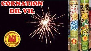 DIL VIL from Cornation Fireworks - Medium Size Crackling Skyshot Shell