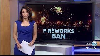Lawmakers weigh in on Oahu's fireworks ban