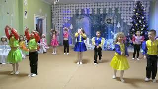 Новогодняя  полечка (старшая группа) д/с  №306 Одесса