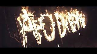 Огненная надпись на корпоратив в Ростове | GOF show