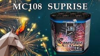 "MC108 SUPRISE (1,2"" х 13) пиротехника оптом ""ОГОНЁК"""