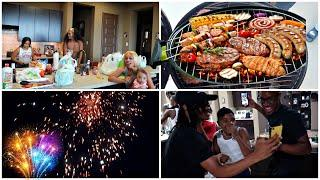 Our 4th Of July Vlog | Barbecue, Games, Fireworks Etc.....