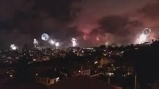 Full Madeira Fireworks 2018 to 2019 ( Funchal Portugal )