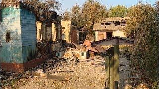 Наслідки вибухів на складах поблизу Ічні
