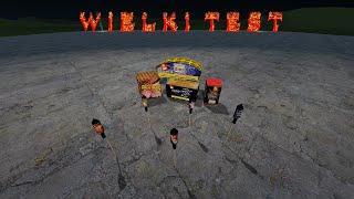 Test fajerwerków z Garry's Fireworks 2 (Gmod)