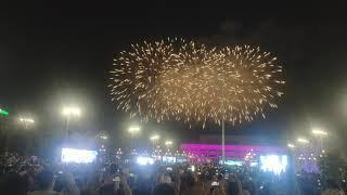Салют на День Победы в Ташкенте