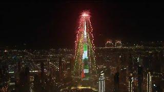 Burj Khalifa Dubai Fireworks 2019 Happy New Year