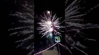 Салюты в центре Белорецка!!!С новым годом!