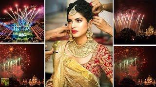 Priyanka Chopra's Wedding Fireworks at Umiad Bhawan Palace