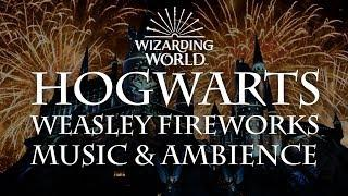 Hogwarts Fireworks | Harry Potter Music and Ambience