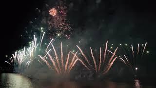 Рига ,Салюты 2019,полное видео,17 августа , праздник 2019