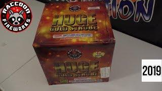 HUGE GOLD STROBE - RACCOON FIREWORKS