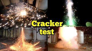 Crackers testing/Patakha test/Ajit fireworks,Jama masjid crackers