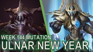 Starcraft II Co-Op Mutation #144 - Ulnar New Year [More Fireworks!]