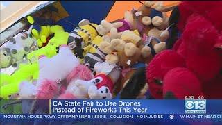 California State Fair Replacing Fireworks With Drone Light Show
