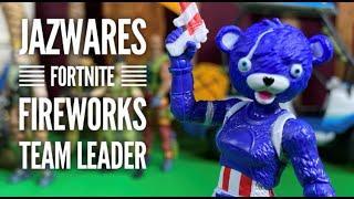 Jazwares Fortnite 4'' Fireworks Team Leader Solo Mode Action Figure Review!