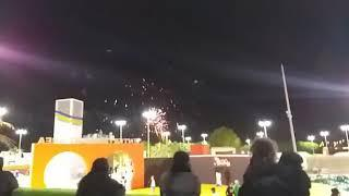 Fireworks at Flower Fastival Yanbu 2019