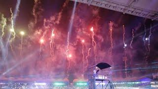 PSL 5 Fireworks live from national stadium Karachi | Pakistan super league 5 Fireworks