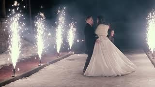 Фаер-шоу на свадьбе в Минске