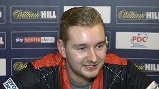 DIMITRI VAN DEN BERGH ' You can expect fireworks in the my next match' | 3-1 over Jonny Clayton