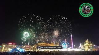 FIREWORKS IN GLOBAL VILLAGE 2019 || GLOBAL VILLAGE DUBAI UAE