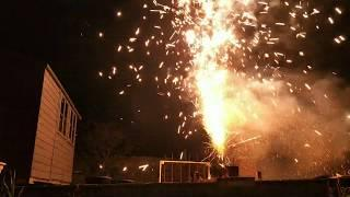 Crackle Conic Fountain by Epic Fireworks