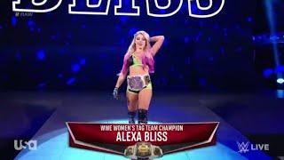 Alexa Bliss Entrance With Fireworks - RAW SEASON PRIMERE: September 30, 2019