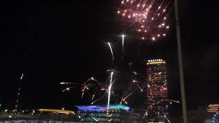 Fireworks: Sydney Pyrmont Bridge Darling Harbour