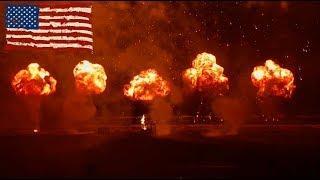 Fireworks National Anthem at PGI 2019