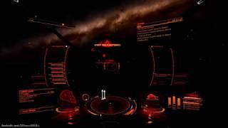 PvP 6 Mine Launcher Gunship vs 13th Legion Python. Fireworks in Space. Elite Dangerous