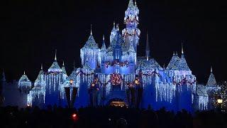 Disney Winter Magical Attractions - Holiday Decors, Holiday Lightings, Magical Fireworks, Fun Rides