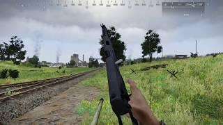 Штурм завода. Командир танка Т-34 [Red Bear Iron Front ArmA 3]