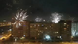 Салюты в Тюмени на новый год 2019